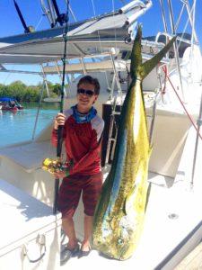 mahi mahi caribbean fishing