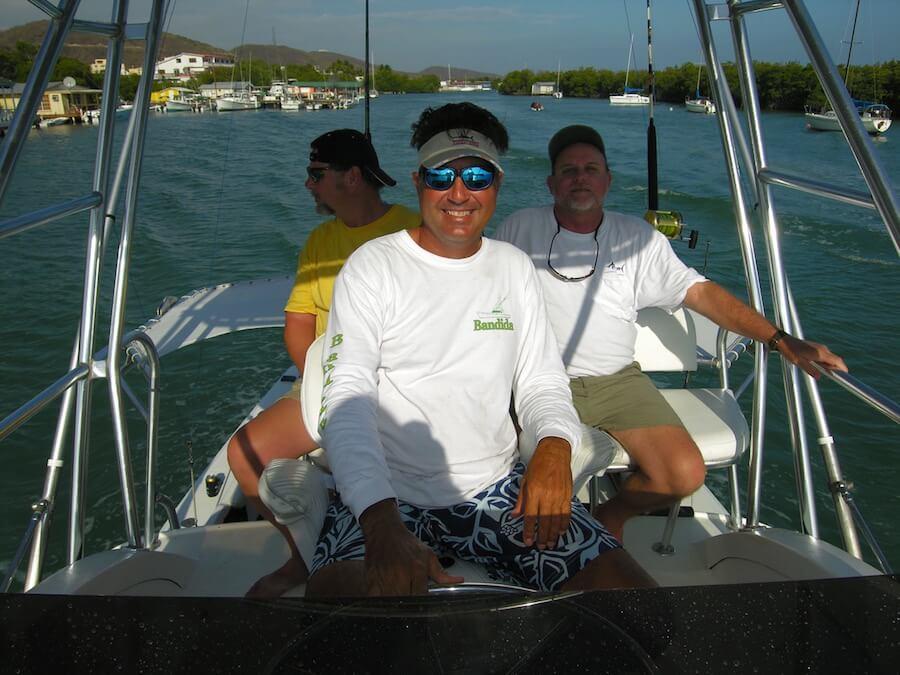 the crew captain Mickey Amador