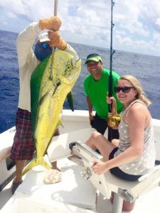 family full day trip fishing charter