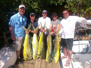 puerto rico fishing charter mahi mahi