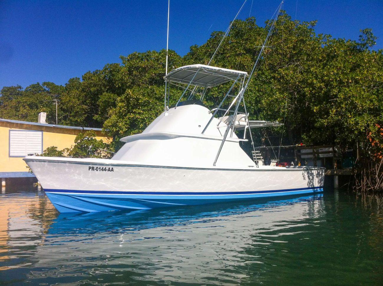 the boat MAREJA